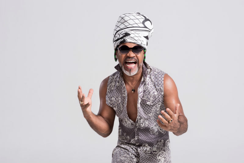 Carlinhos Brown ( foto Dodô Villar)