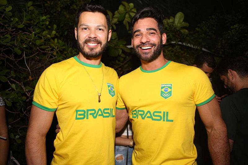 Ruan Gomes e Marlon Gama